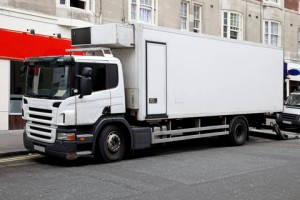 Local delivery trucks